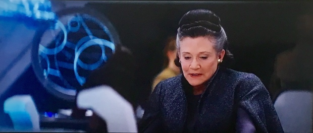 Carrie Fisher as General Organa