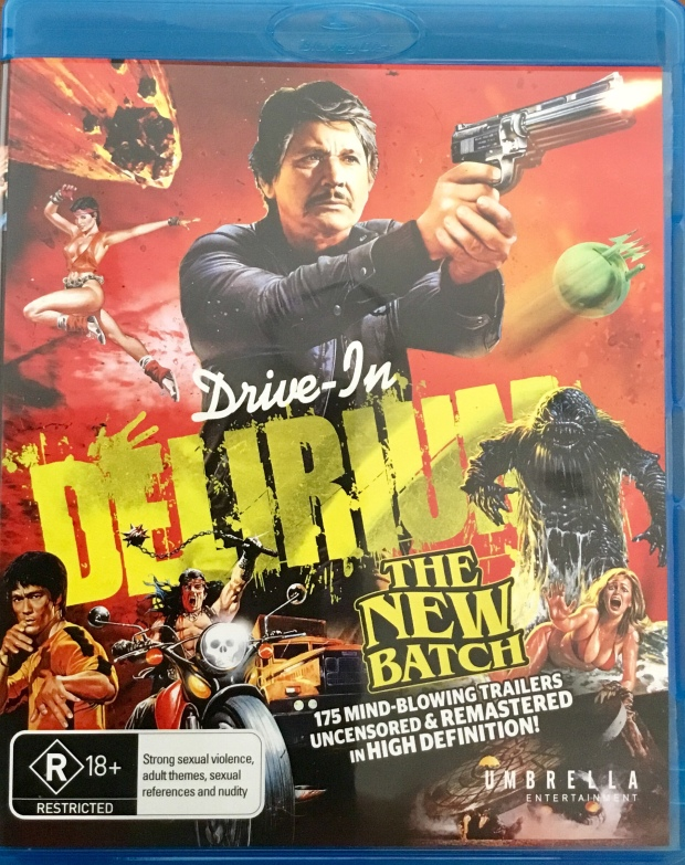 The cover to Drive-In Delirium:The New Batch