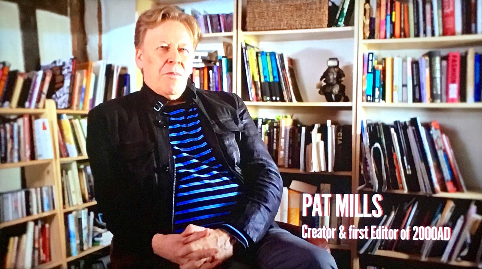 Creator of 2000AD, Pat Mills speaks of its origins.