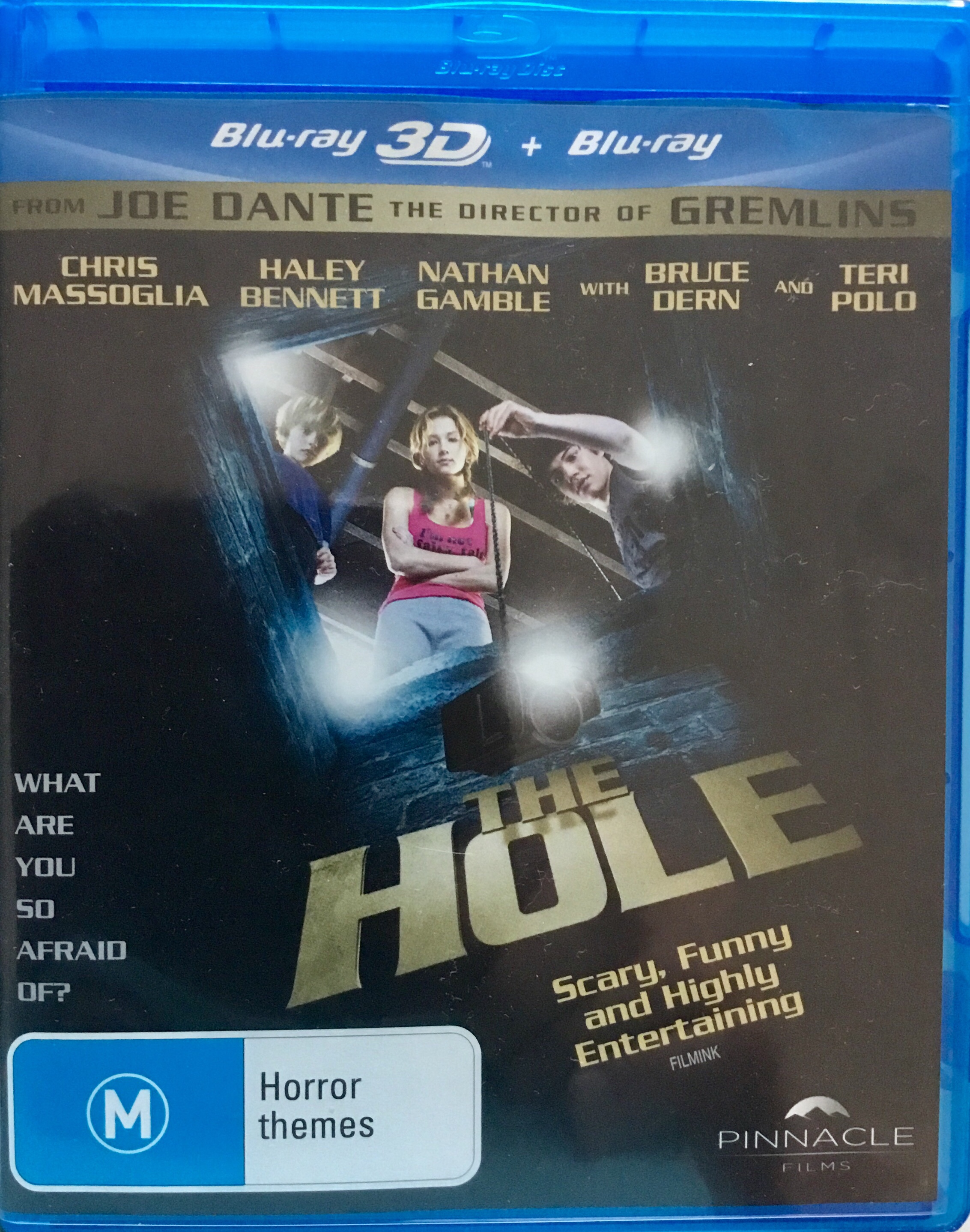 The cover to the Australian release of The Hole (2009)